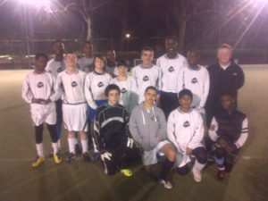 One of CYP's talented football teams at the Coram Field Cup